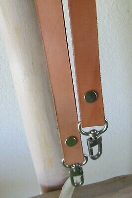$8 • Buy Assorted Brown Leather Replacement Shoulder Hand Bag Straps Nickel-tone Hardware