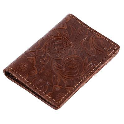 AU4.34 • Buy Case Travel Accessories Men Passport Cover New Purse Leather Fashion ID Card LL