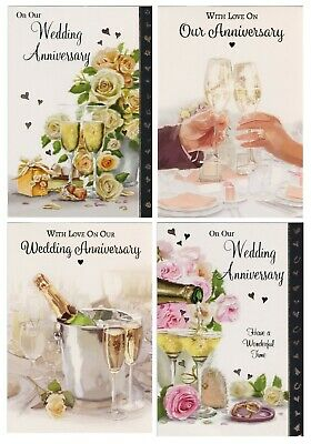 £1.95 • Buy On Our Wedding Anniversary Card Various Design  Our Wedding