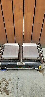Commercial Contact Panini Grill Double Buffalo OPEN TO OFFERS • 100£