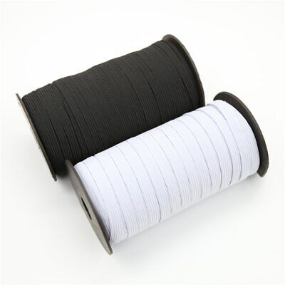 4 Mm Face Mask Elastic For Sewing QUALITY UK STOCK Stretch Band Cord Black White • 3.50£