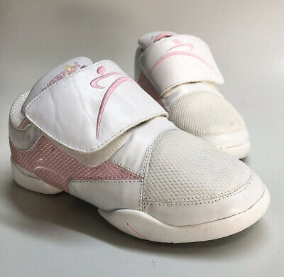 $26.95 • Buy RINGSTAR FIGHT PRO SPARRING SHOES Women's SIZE 5.5 White & Pink