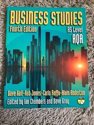 Business Studies, Fourth Edition, AS Level AQA • 12.99£