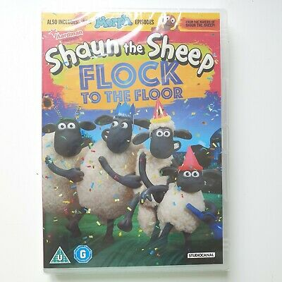 Shaun The Sheep - Flock To The Floor DVD New Sealed • 3.49£