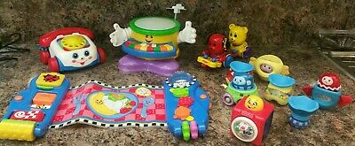 £24.99 • Buy Joblot Baby Toys, Fisher Price, Tomy, Musical Drums, Activity Place Mat + More!