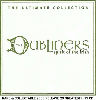The Dubliners Very Best 20 Greatest Hits Collection - Traditional Irish Folk CD • 4.25£