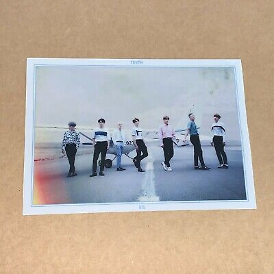 $22.95 • Buy Official LIMITED BTS YOUTH Clear Photo Poster - Group UNIT Photocard #2