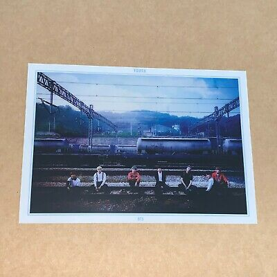 $22.95 • Buy Official LIMITED BTS YOUTH Clear Photo Poster - Group UNIT Photocard #4