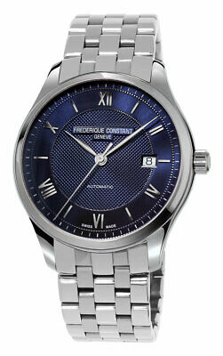 $679 • Buy Frederique Constant Classics Index Automatic Steel Blue Mens Watch FC-303MN5B6B