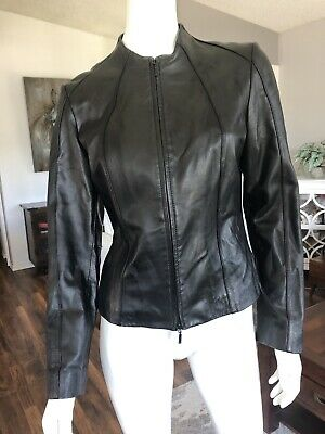 $ CDN110 • Buy Danier Stylish Leather Jacket Small