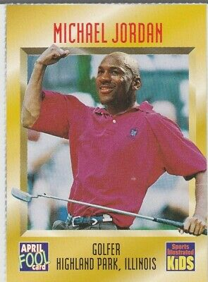 $32.23 • Buy MICHAEL JORDAN TIGER WOODS Sports Illustrated For Kids RARE GOLF BASKETBAL CARD
