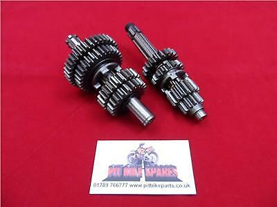 PIT BIKE GEARS, GEARBOX. FITS YX140cc ENGINE GENUINE YX 140 PART • 37.50£