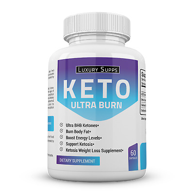 $11.49 • Buy Keto Ultra Burn BHB Ketones Supplement For Weight Loss And Fat Burning