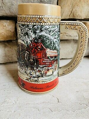 $ CDN12.47 • Buy Vintage 1987 BUDWEISER Collector's Series  C  Stein Mug Limited Edition
