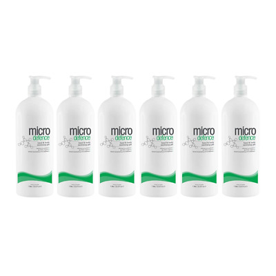 AU159.95 • Buy Micro Defence Body / Hand Sanitiser Gel 1L Kills 99.9% Of Germs - Aus Made - 6pk