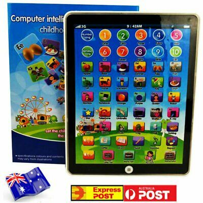 AU18.78 • Buy Kids Children Tablet Pad Educational Learning Toys For Boys Girls Baby Gift AU