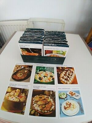 Marguerite Patterns Cooking Recipe 700 Plus Cards Cook Book Boxed 1967 Retro  • 39.99£