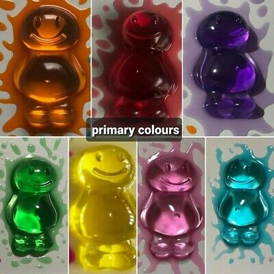 Resin Jelly Baby Figure For Craft Projects • 20£
