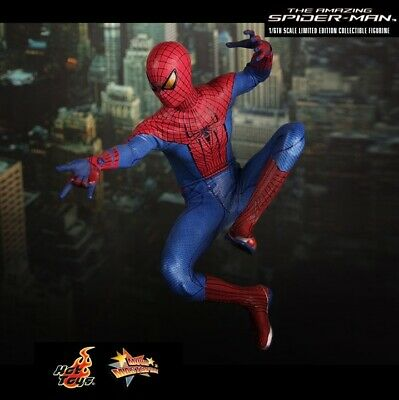$ CDN412.32 • Buy Hot Toys MMS179: The Amazing Spiderman - Spiderman Collectible (1/6 Scale)