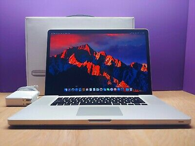 $749 • Buy ULTRA APPLE MACBOOK PRO 17 INCH / CORE I7 2.66GHZ / OS2018 / HUGE 750GB / 8GB