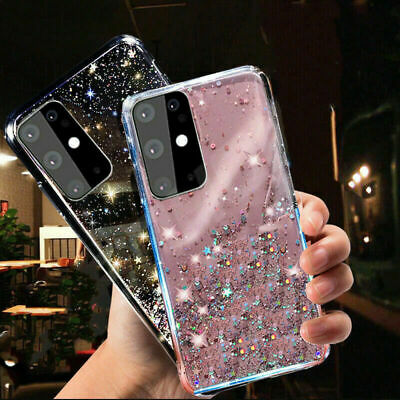 AU9.98 • Buy For Samsung Galaxy S20 S10 S9 S8 Plus Shockproof Bling Glitter Soft Case Cover