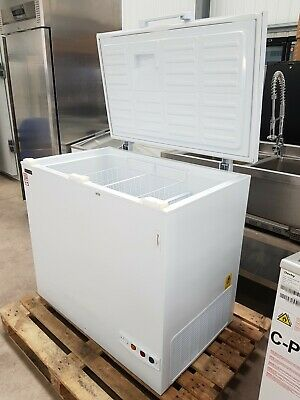 1m Small Commercial Chest Freezer White • 475£