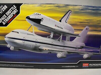 MODEL SPACE SHUTTLE 1:288  Plastic Construction Model Kit BOEING 747 + SHUTTLE  • 14.95£