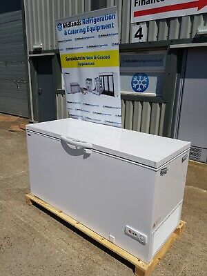 1.5m Commercial Chest Freezer White • 675£