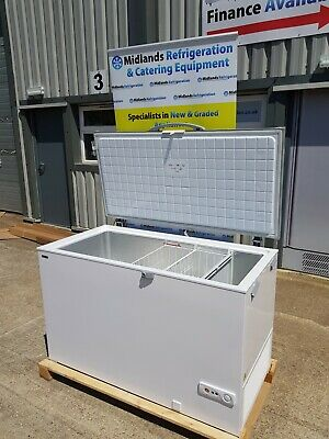 1.3m Commercial Chest Freezer Stainless Steel Lid • 695£