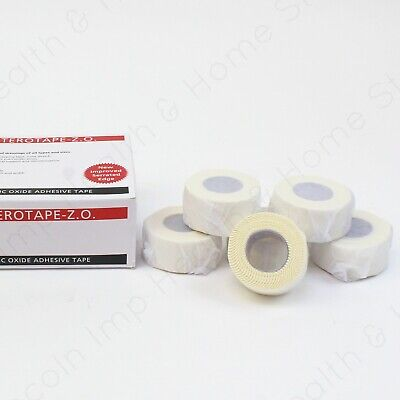 Zinc Oxide ZO Premium Rigid Sports Strapping Tape For Joint Support 2.5cm X 5m  • 5.99£