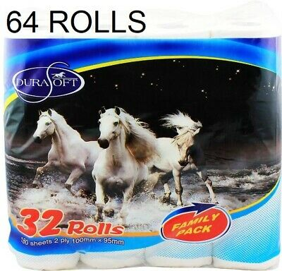 AU48.95 • Buy AU 60x Toilet Paper Tissue Rolls Softness Sanitary 120g 3 PLY 225 Sheets BULK