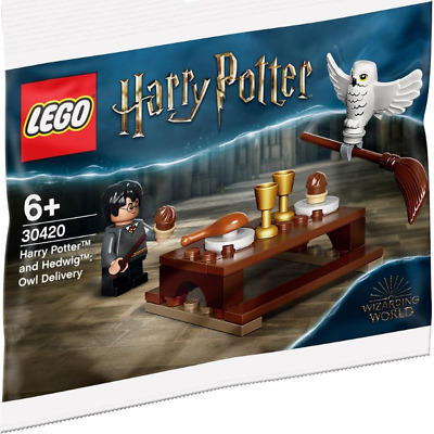 AU10.95 • Buy LEGO 30420 - Harry Potter & Hedwig - Owl Delivery Polybag (New) - IN STOCK -