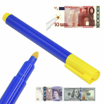 £2.95 • Buy Money Checker Pen Forged Bank Note Detector Pens Fake Notes Tester Pen Fraud