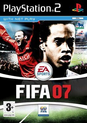 FIFA 2007 - PlayStation 2 / PS2 *TESTED* • 2.50£