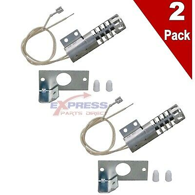 $ CDN58.12 • Buy (2 Pack) GR403 Gas Oven Round Style Ignitor WB2X9154, AP2014008, PS243425