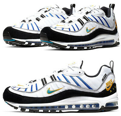 $129.97 • Buy Nike Air Max 98 PRM Teal Nebula Running Athletic Shoes BV0989-102 Size 11.5