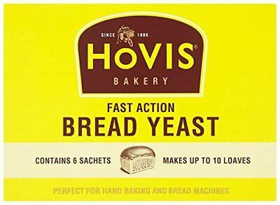 1 X Hovis Fast Action Bread Yeast6 X 7g 1 Box Bread Making Bakery Pizza  • 3.50£