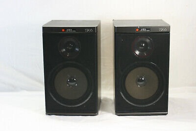 $69.99 • Buy Vintage Aiwa SX-6 Pair Of Speakers 8 Ohms 40 Watts VGC FREE SHIPPING