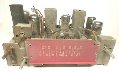 $ CDN56.65 • Buy Vintage SILVERTONE 7100 CONSOLE RADIO/PHONO:  Untested CHASSIS W/ All 6 Tubes