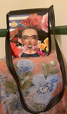 $25 • Buy Frida Kahlo Adjustable Crossbody Bag,handbag,purse