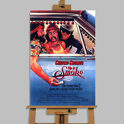 £8.99 • Buy Cheech And Chong Up In Smoke  Movie Canvas Wall Art Picture Print