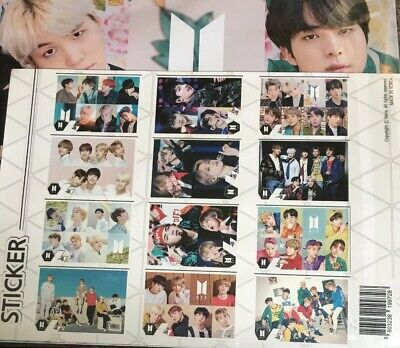 $7.99 • Buy 12 BTS Sticker Posters