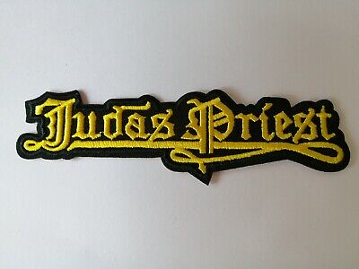 £3.99 • Buy Embroidered Judas Priest Heavy Metal Rock Band Patch Badge Iron Or Sew On Clothe