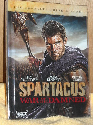 £7.99 • Buy Spartacus: War Of The Damned (DVD, 2013, 3-Disc Set) Andy Whitfield Drama