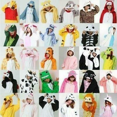 Unisex Adult  Kigurumi Animal Cosplay Costume Pajamas Onesie18 Sleepwear Outfit/ • 16.68£