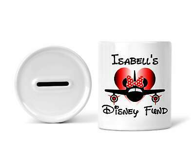 Personalised Disney Fund Girls Money Box • 8.99£