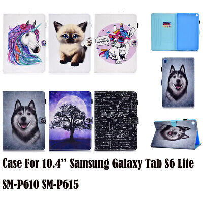 Cute Case For Samsung Galaxy Tab S6 Lite SM-P610 SM-P615 Tablet Stand Flip Cover • 10.32£