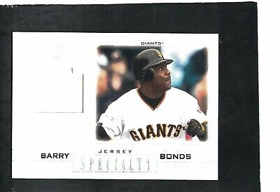 $5 • Buy Barry Bonds Giants Slugger 2001 Ud Pros & Prospects ''specialty'' Jersey Relic