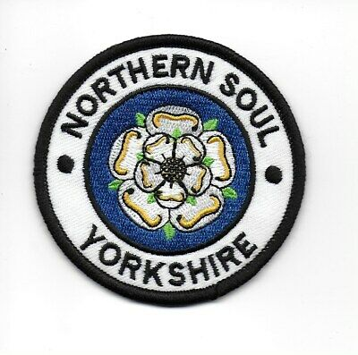 £2.99 • Buy NORTHERN SOUL :  YORKSHIRE -  Embroidered Iron Sew On Patch Badge