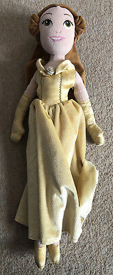 Disney Store 20  Princess Belle Soft Toy Doll Used • 7.95£
